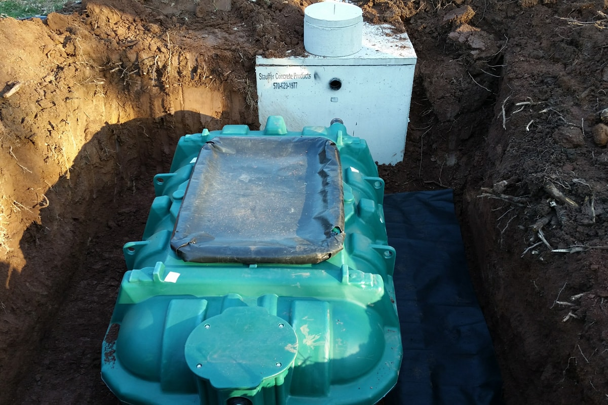 Coco Filter At Grade Andrew Damiani Septic Amp Site